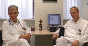 Dr. Laferl und Dr. Wenisch